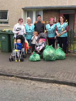 Gallowhill clean up