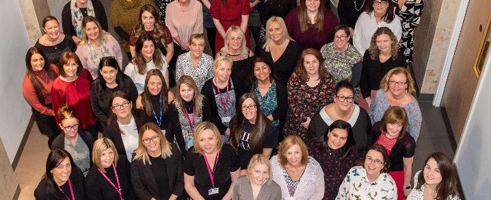 Nursery staff from Renfrewshire, East Renfrewshire and Inverclyde councils