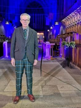 Brian in Paisley Abbey