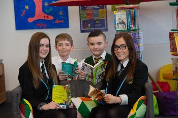 Pupils mark Renfrewshire being rated excellent for its progressing in raising attainment