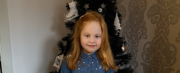 Charlotte who attends 3 Bears Nursery, Renfrew