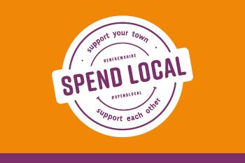 Spend Local campaign logo