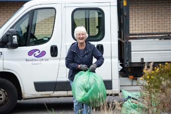 Cllr McEwan - Spotless September