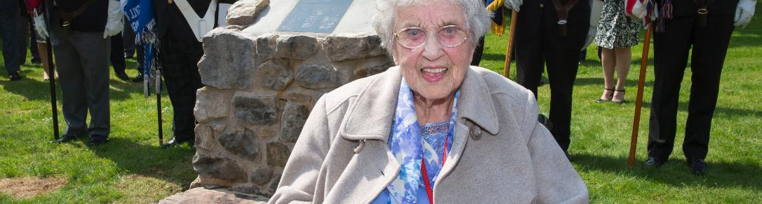 Oldest survivor of Paisley's worst wartime disaster attends memorial service to mark 92 lives lost at Woodside First Aid Post on 6 May 1941