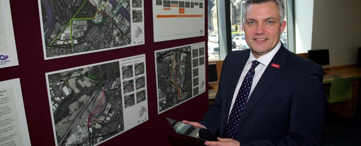 Cllr Macmillan views City Deal plans