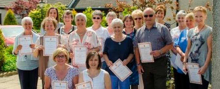 St Vincent's Hospice award winners
