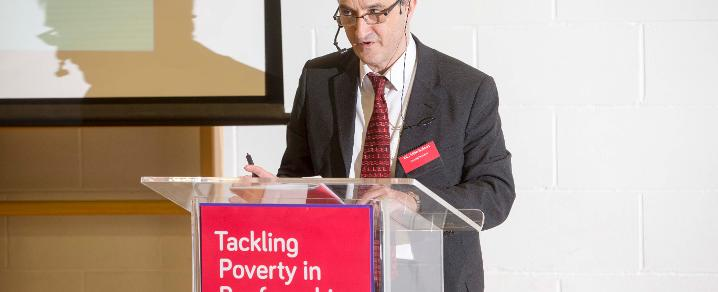 Cllr Holmes Tackling Poverty launch