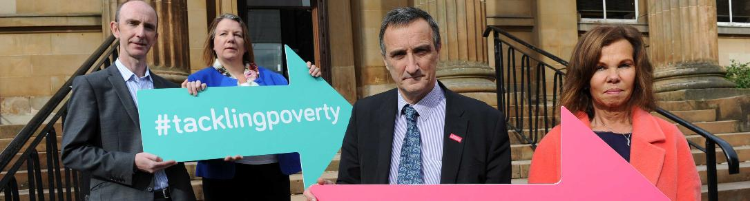 Tackling Poverty Commission event