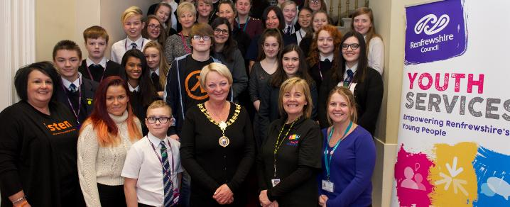 Provost at Youth Assembly