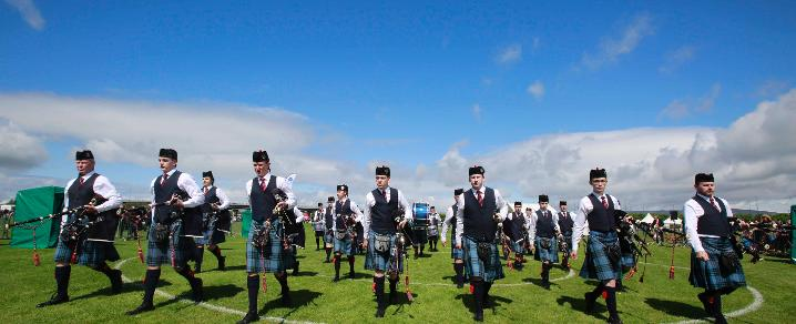British Pipe Band 2016