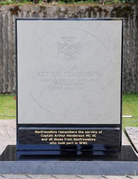 Commemorative VC paving stone