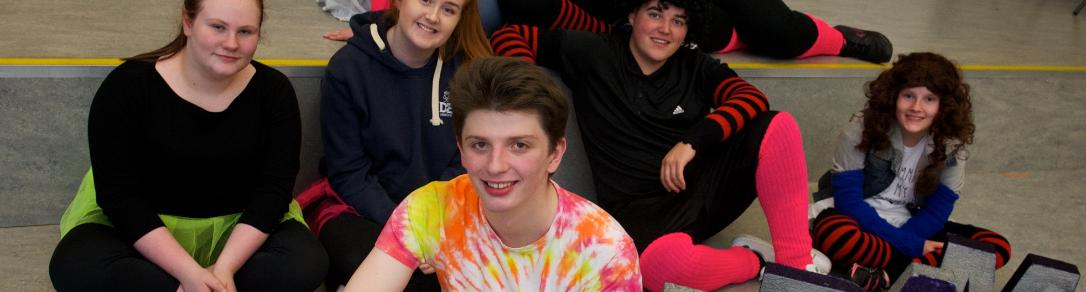 Young people in Linwood get ready for their big performance