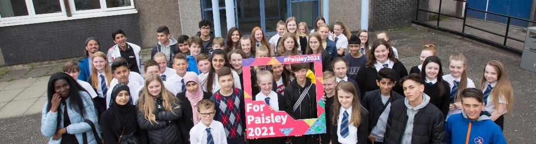 School pupils from Gladsaxe visit counterparts in Renfrew