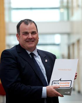Council Leader Iain Nicolson- Invest in Renfrewshire