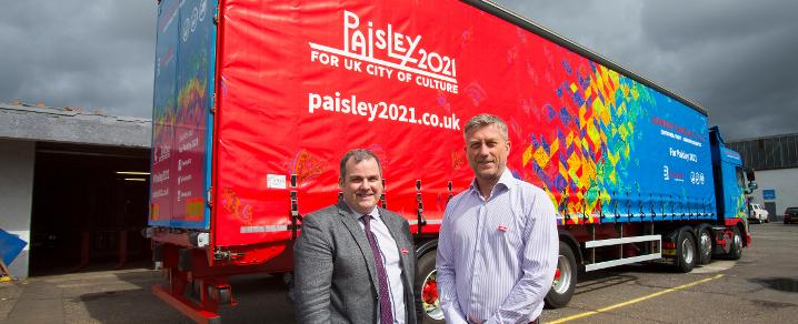 Gordon Leslie Paisley 2021 truck and leader