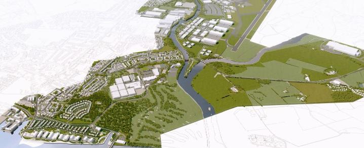 GAIA and CWRR Masterplan Still