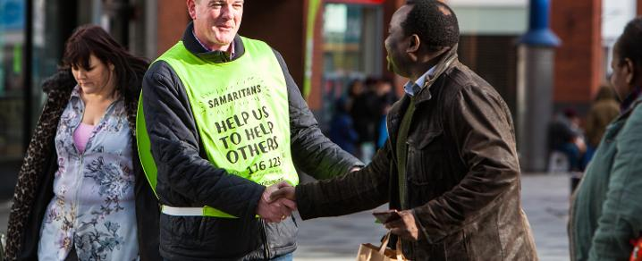 Samaritans volunteer