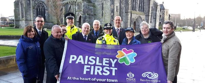 Paisley First - Purple Flag