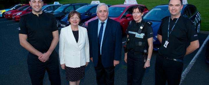 Cllr McGurk at new drivers programme