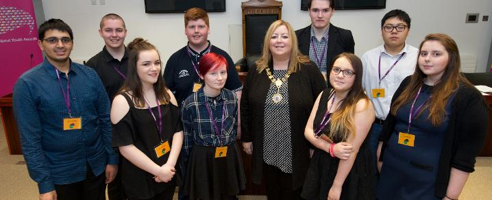 Provost Cameron and Youth Commission