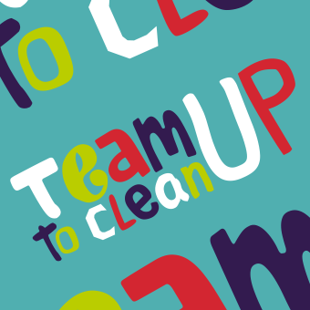 Team Up logo blue