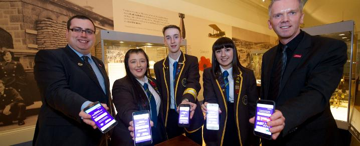 Wifi students at Paisley Museum