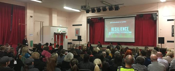 St Paul's Primary School screening of Resilience film
