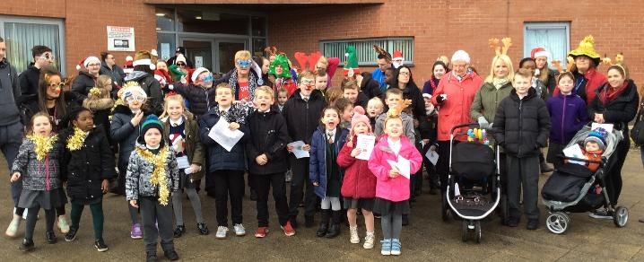 Jingle Bell Mile - St David's Primary School
