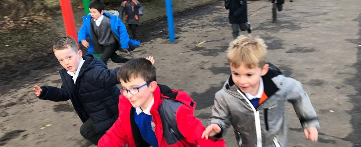 Daily Mile - Newmains Primary