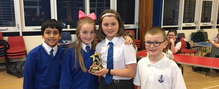 Houston PS - Euroquiz winner of Renfrewshire Heats 2018