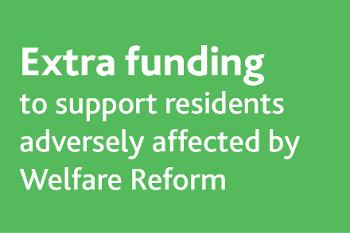 Extra funding welfare reform