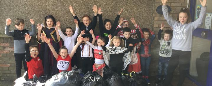 Heriot Primary Clothes Recycling Day