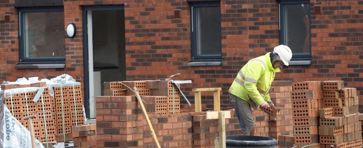 Construction work at Sanctuary Homes, Shortroods