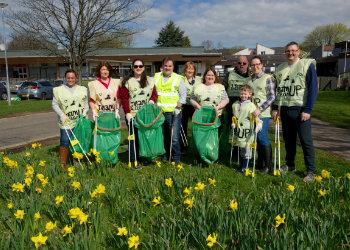Community support for Renfrewshire's Big Spring Clean