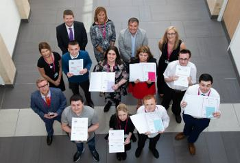 Graduates of Renfrewshire Project Search 2018