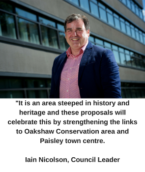 Paisley West End - Council Leader quote