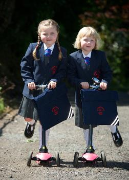 Rodger twins - Langbank Primary