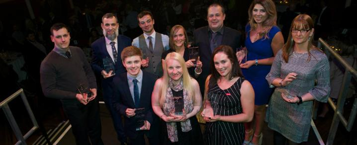 2017 Employability Award winners