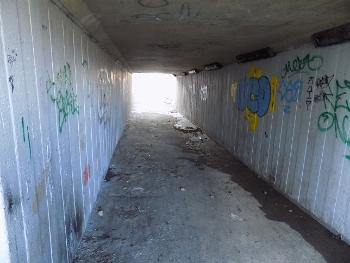 Spateston underpass - before