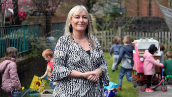 Head of Centre Shirley Allan at Hugh Smiley Early Learning and Childcare Centre