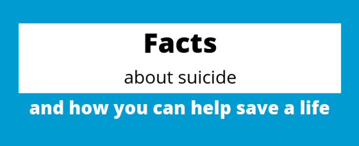 Suicide Prevention Week - Facts