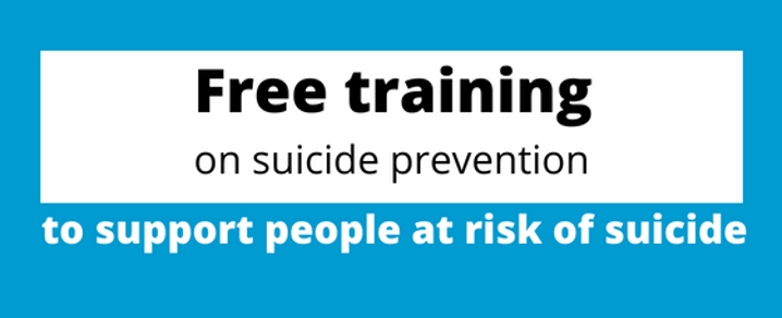 Suicide Prevention Week - free training