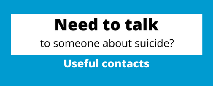 Suicide Prevention Week - useful contacts