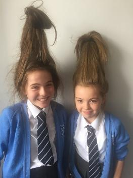 Maths Week Scotland 2018 - hair raising