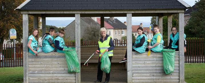 Hundreds Team Up To Make It A Spotless September In