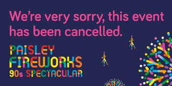Cancelled - Fireworks