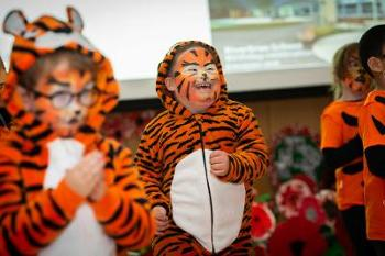 Riverbrae School pupils perform ROAR