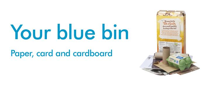 your blue bin