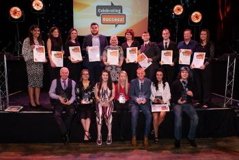 Winners and finalists at the 2018 Employability Awards