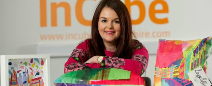 Chloe Wright, founder of Loopy Lally Designs